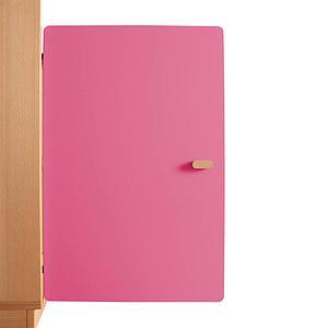 Schranktür 2/5 70cm-Griff DESTYLE de Breuyn MDF pink-lackiert