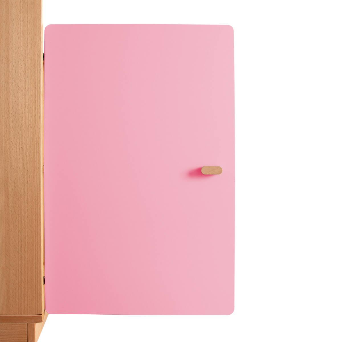 Schranktür 2/5 70cm-Griff DESTYLE de Breuyn MDF rosa-lackiert