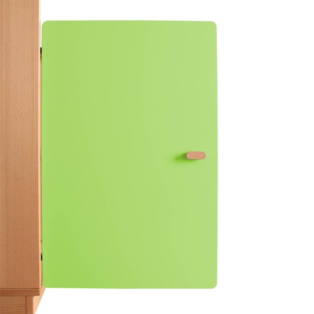 Schranktür 2/5 70cm-Griff DESTYLE Debreuyn  MDF lindgrün-lackiert