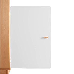 Schranktür 2/5 70cm-Griff DESTYLE Debreuyn  MDF weiß-lackiert