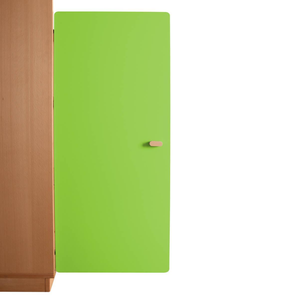 Schranktür 3/5 106cm-Griff DESTYLE de Breuyn MDF lindgrün-lackiert