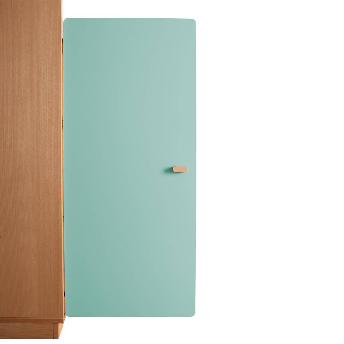 Schranktür 3/5 106cm-Griff DESTYLE de Breuyn MDF mint-lackiert