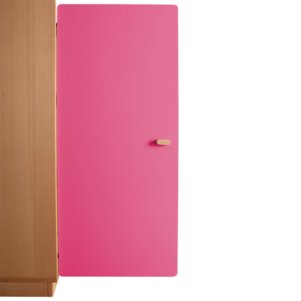 Schranktür 3/5 106cm-Griff DESTYLE de Breuyn MDF pink-lackiert