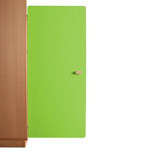 Schranktür 3/5 106cm-Griff DESTYLE Debreuyn  MDF lindgrün-lackiert