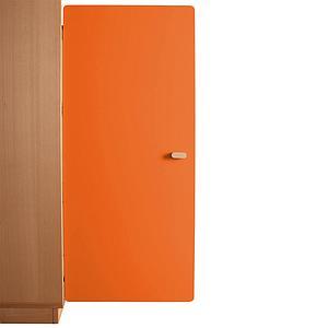 Schranktür 3/5 106cm-Griff DESTYLE Debreuyn  MDF orange-lackiert