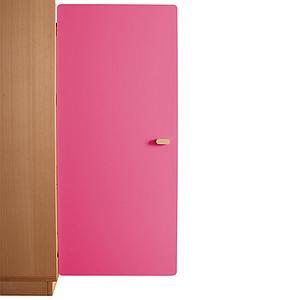 Schranktür 3/5 106cm-Griff DESTYLE Debreuyn  MDF pink-lackiert