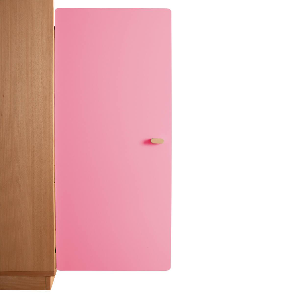 Schranktür 3/5 106cm-Griff DESTYLE Debreuyn  MDF rosa-lackiert