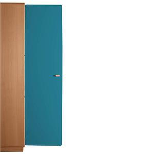 Schranktür 5/5 176cm-Griff DESTYLE de Breuyn MDF blau-lackiert
