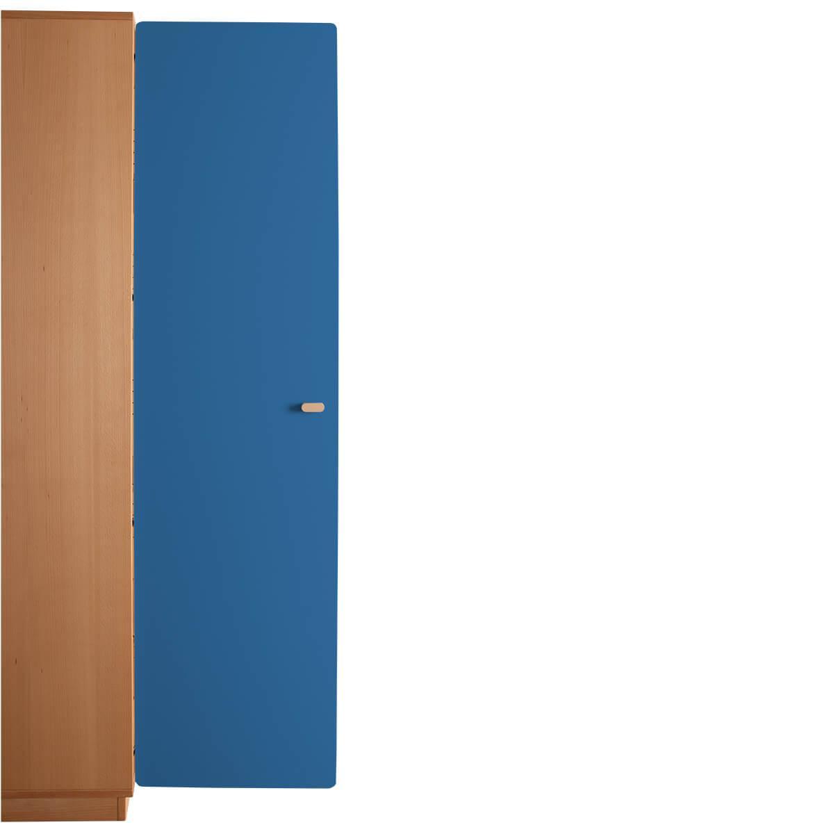 Schranktür 5/5 176cm-Griff DESTYLE de Breuyn MDF dunkelblau-lackiert