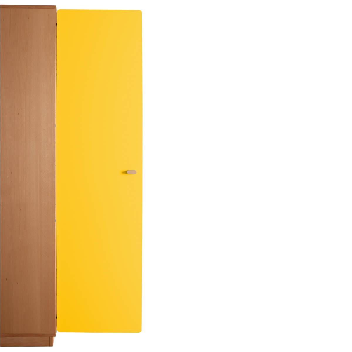 Schranktür 5/5 176cm-Griff DESTYLE de Breuyn MDF gelb-lackiert