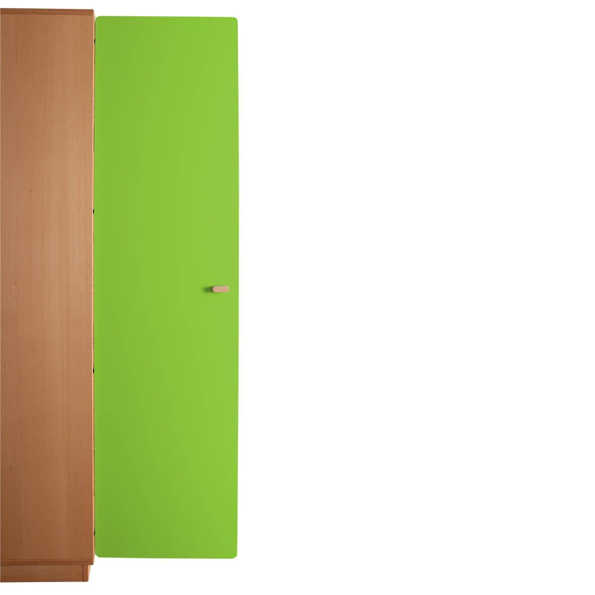 Schranktür 5/5 176cm-Griff DESTYLE de Breuyn MDF lindgrün-lackiert