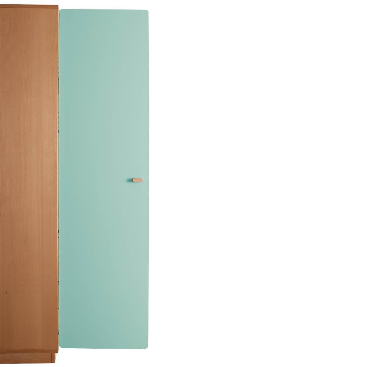 Schranktür 5/5 176cm-Griff DESTYLE de Breuyn MDF mint-lackiert
