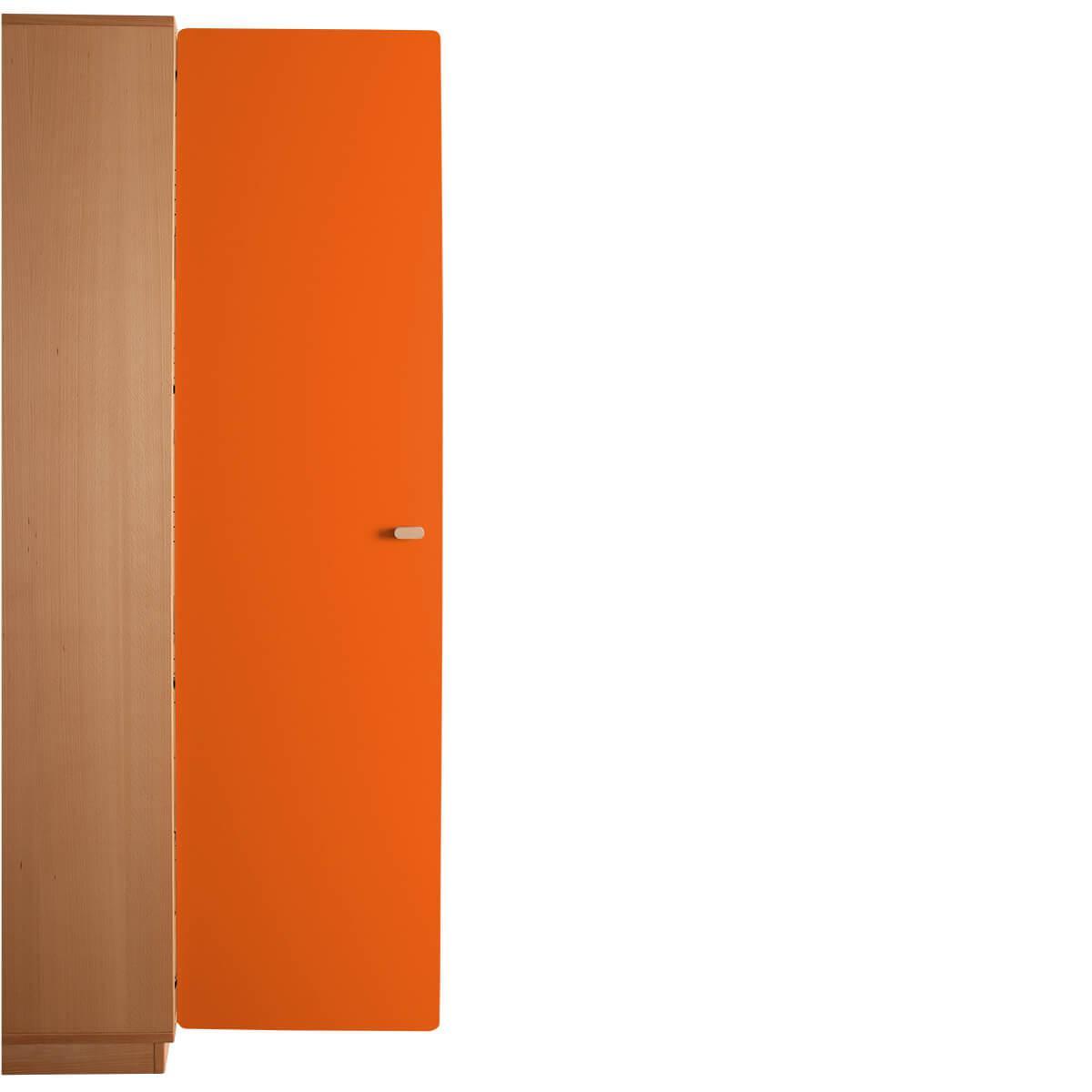 Schranktür 5/5 176cm-Griff DESTYLE de Breuyn MDF orange-lackiert