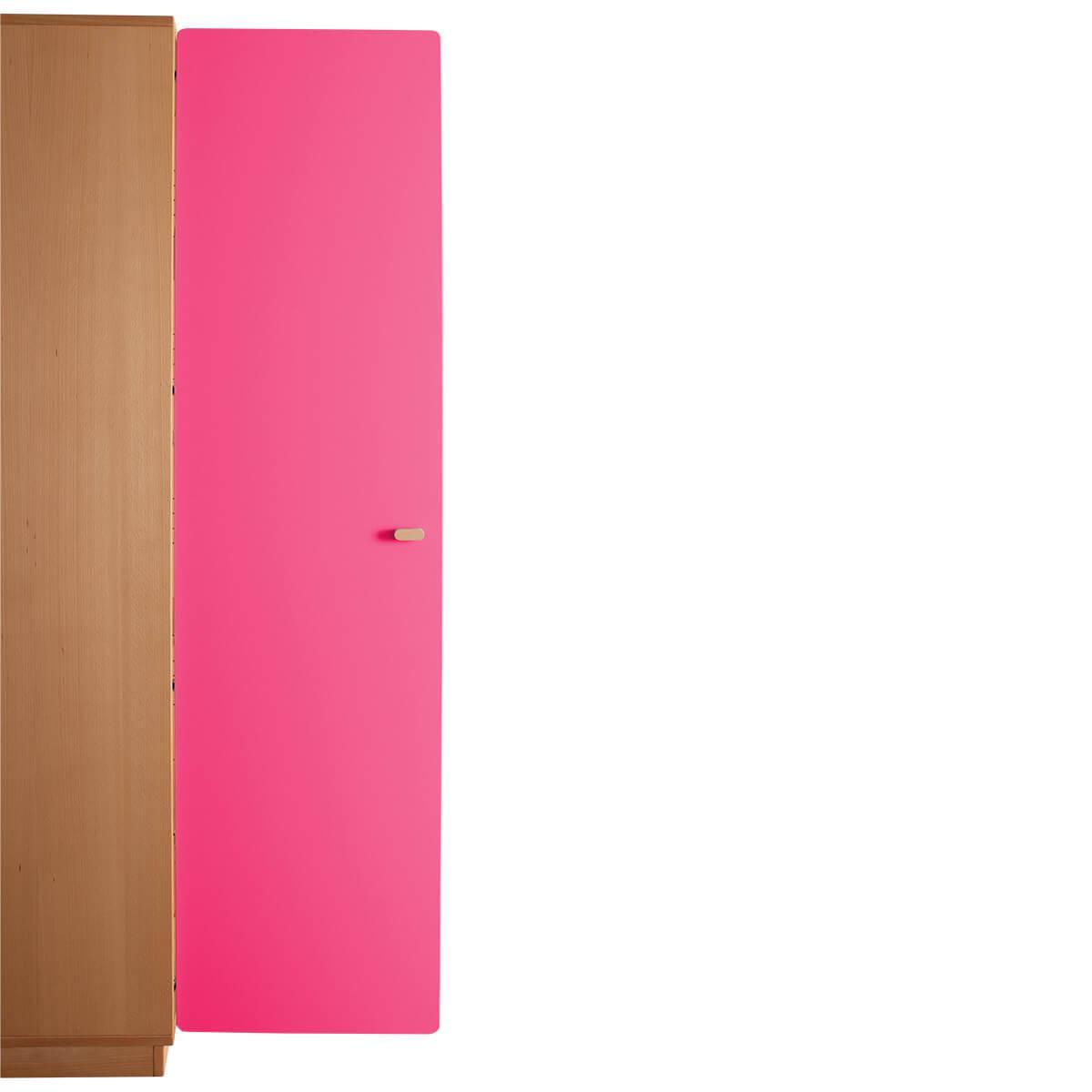 Schranktür 5/5 176cm-Griff DESTYLE de Breuyn MDF pink-lackiert