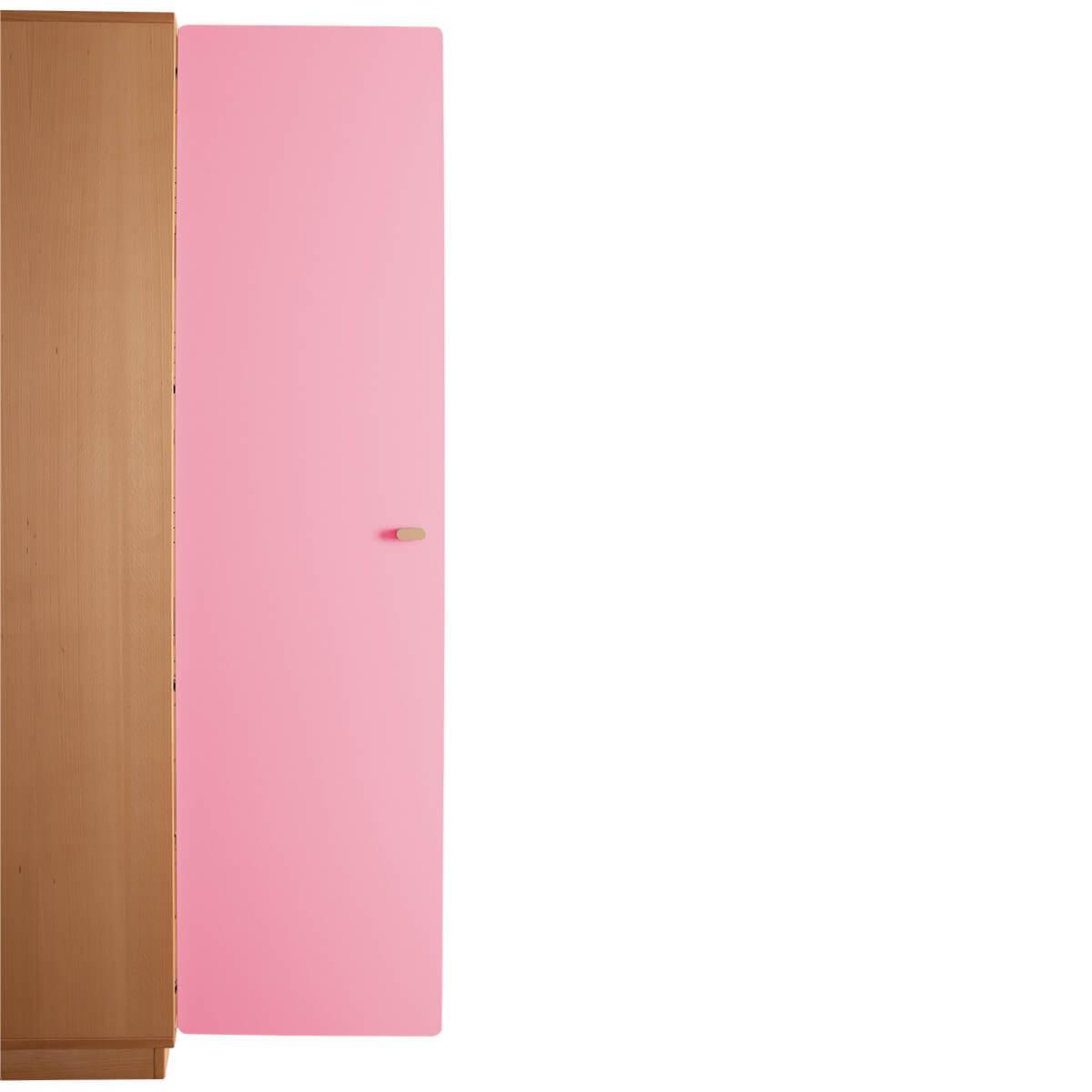 Schranktür 5/5 176cm-Griff DESTYLE de Breuyn MDF rosa-lackiert