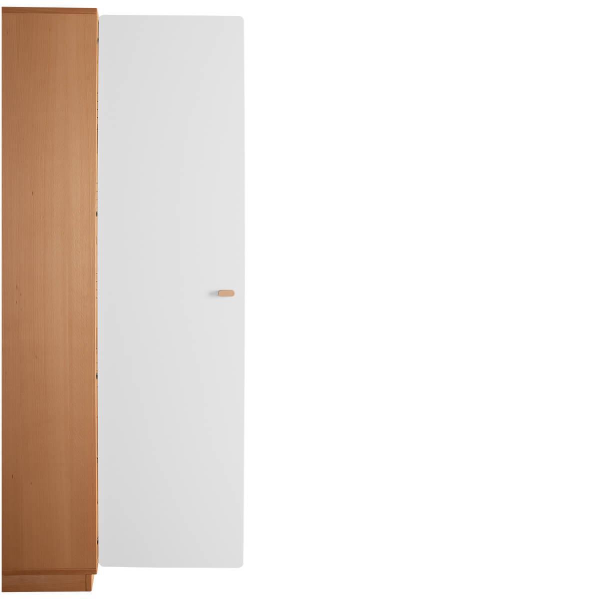 Schranktür 5/5  176cm-Griff DESTYLE de Breuyn MDF weiß-lackiert