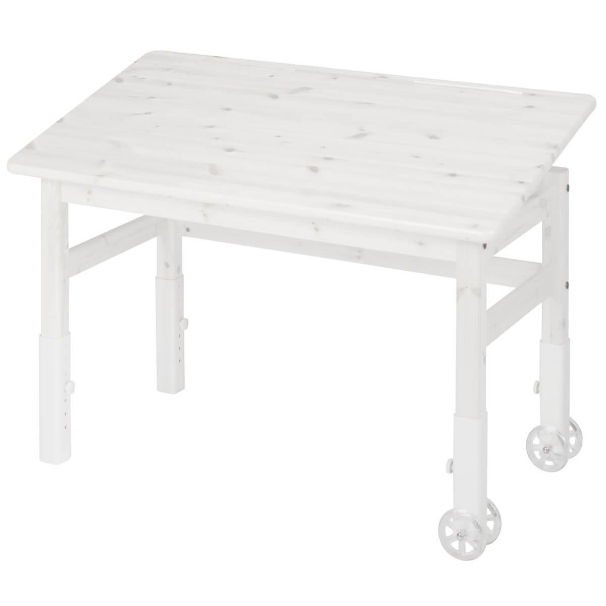 Schreibtisch mit Kippfunktion CLASSIC by Flexa whitewash