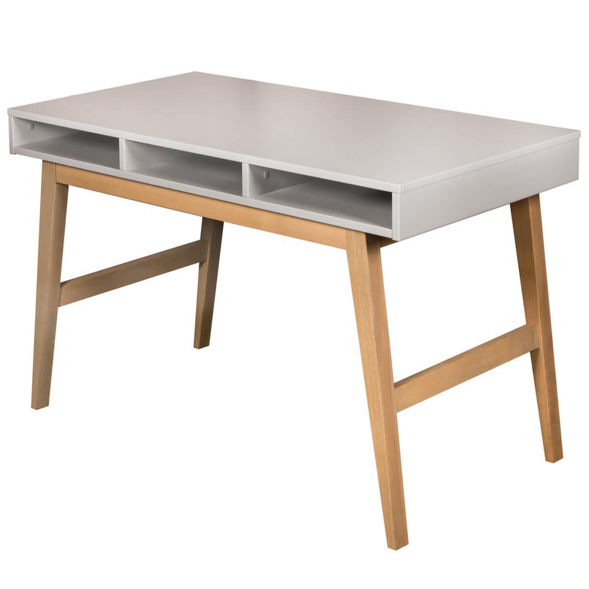 Schreibtisch TRENDY Quax griffin grey