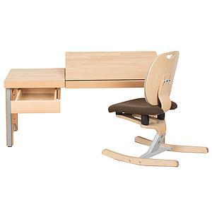 Schreibtischschublade auf Holzleisten ZIGGY de Breuyn Buche massiv natur geölt