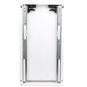 Schreibtischschublade Metallauszug 33cm ZIGGY de Breuyn Buche massiv weiß-gebeizt lackiert