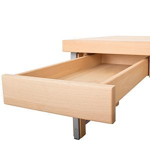 Schreibtischschublade Metallauszug 33cm ZIGGY DETAIL Debreuyn Buche massiv natur-geöl