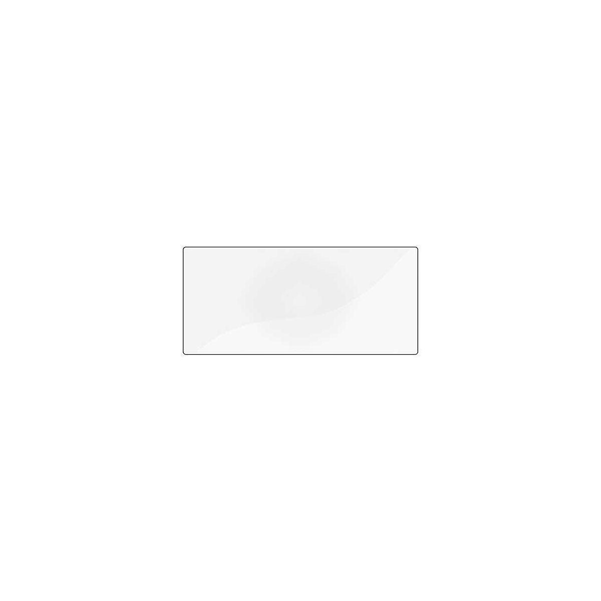 Schreibtischunterlage für kleiner Tisch Flexa transparent
