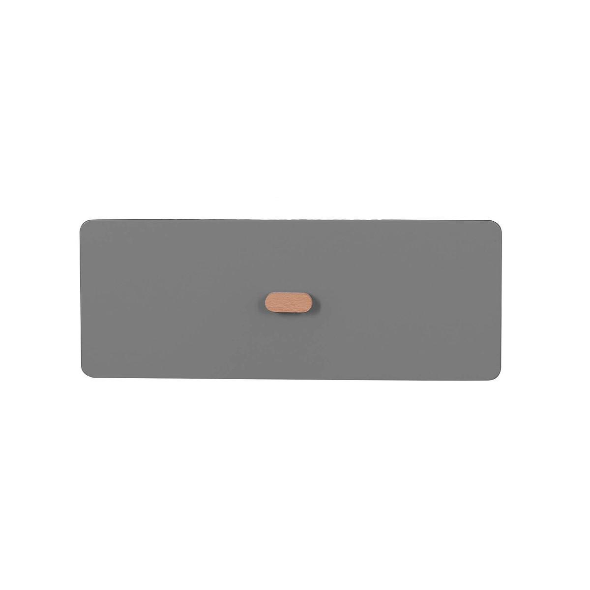 Schubladenblende einzeln 17cm-Griff DESTYLE de Breuyn MDF anthrazit-lackiert