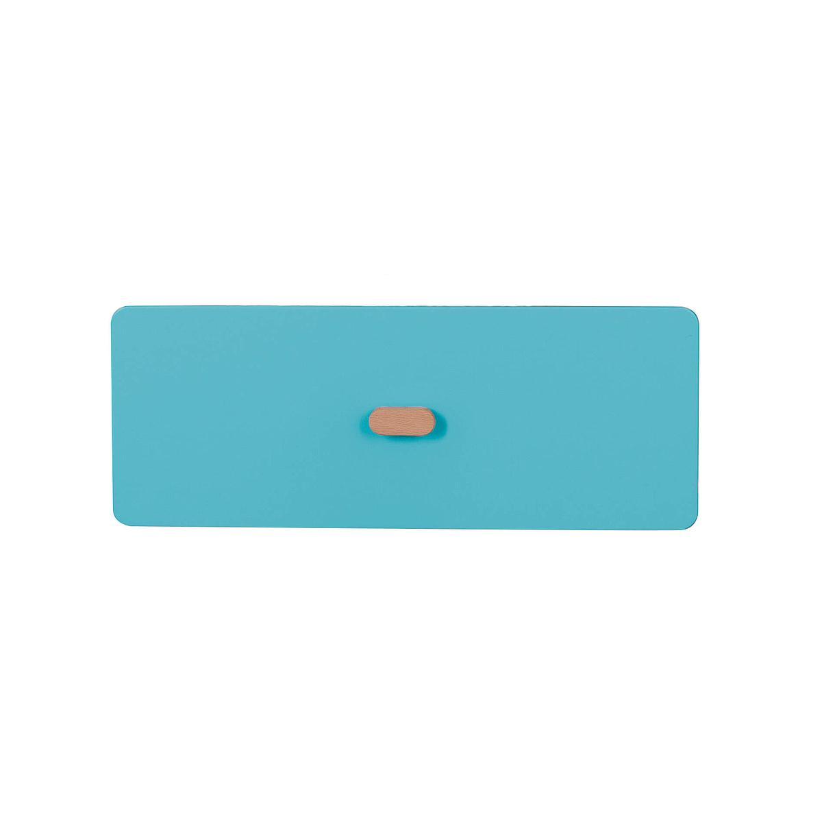 Schubladenblende einzeln 17cm-Griff DESTYLE de Breuyn MDF blau-lackiert