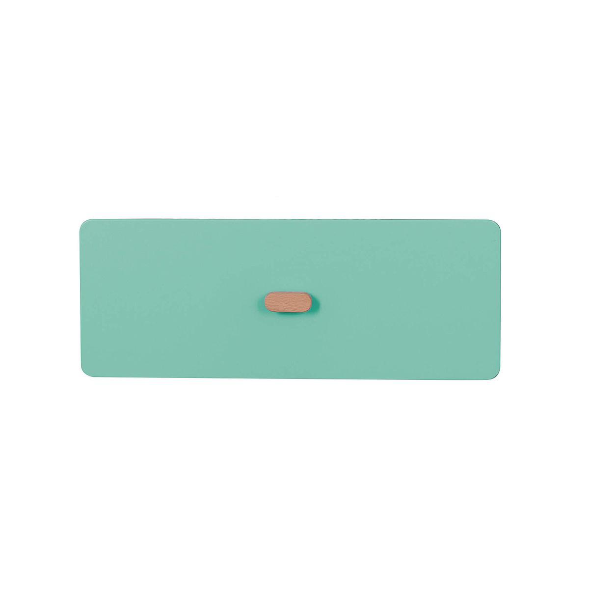 Schubladenblende einzeln 17cm-Griff DESTYLE de Breuyn MDF grün-lackiert