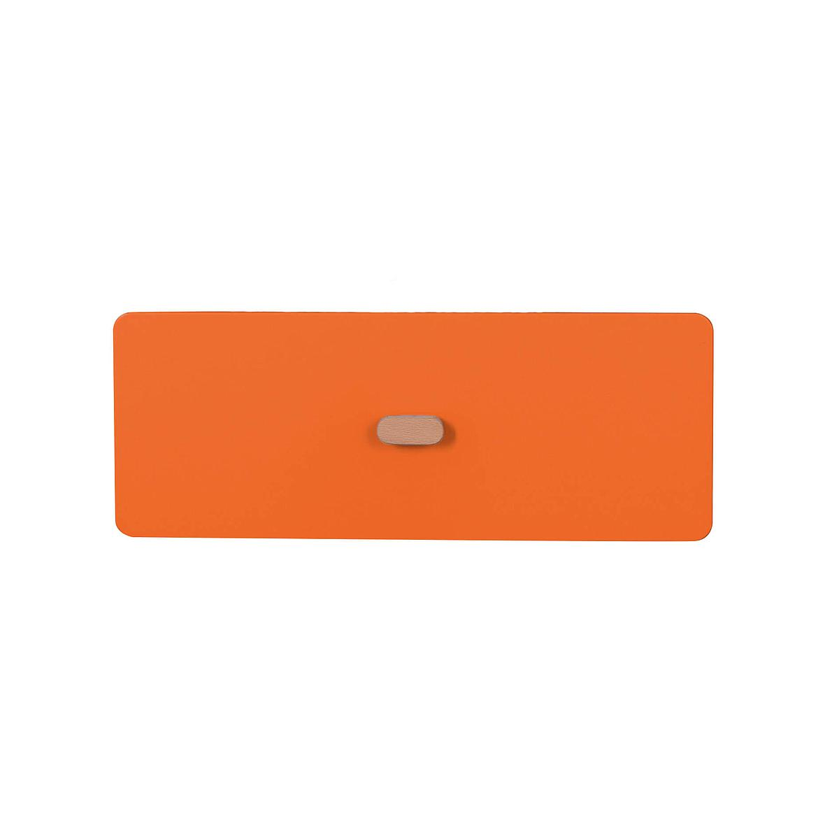 Schubladenblende einzeln 17cm-Griff DESTYLE de Breuyn MDF orange-lackiert