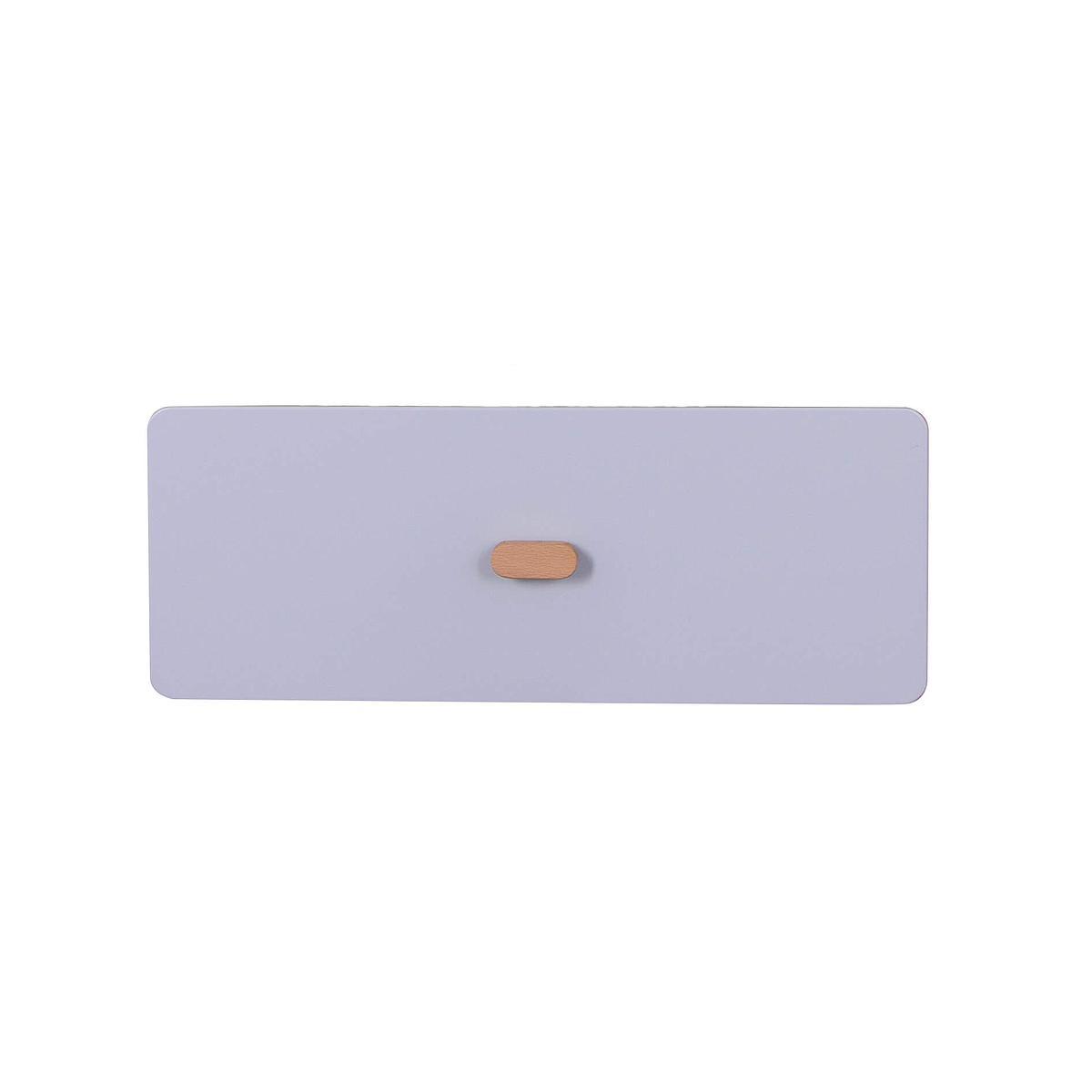 Schubladenblende einzeln 17cm-Griff DESTYLE Debreuyn  MDF grau-lackiert