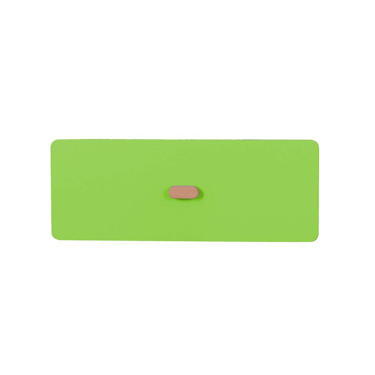 Schubladenblende einzeln 17cm-Griff DESTYLE Debreuyn  MDF lindgrün-lackiert