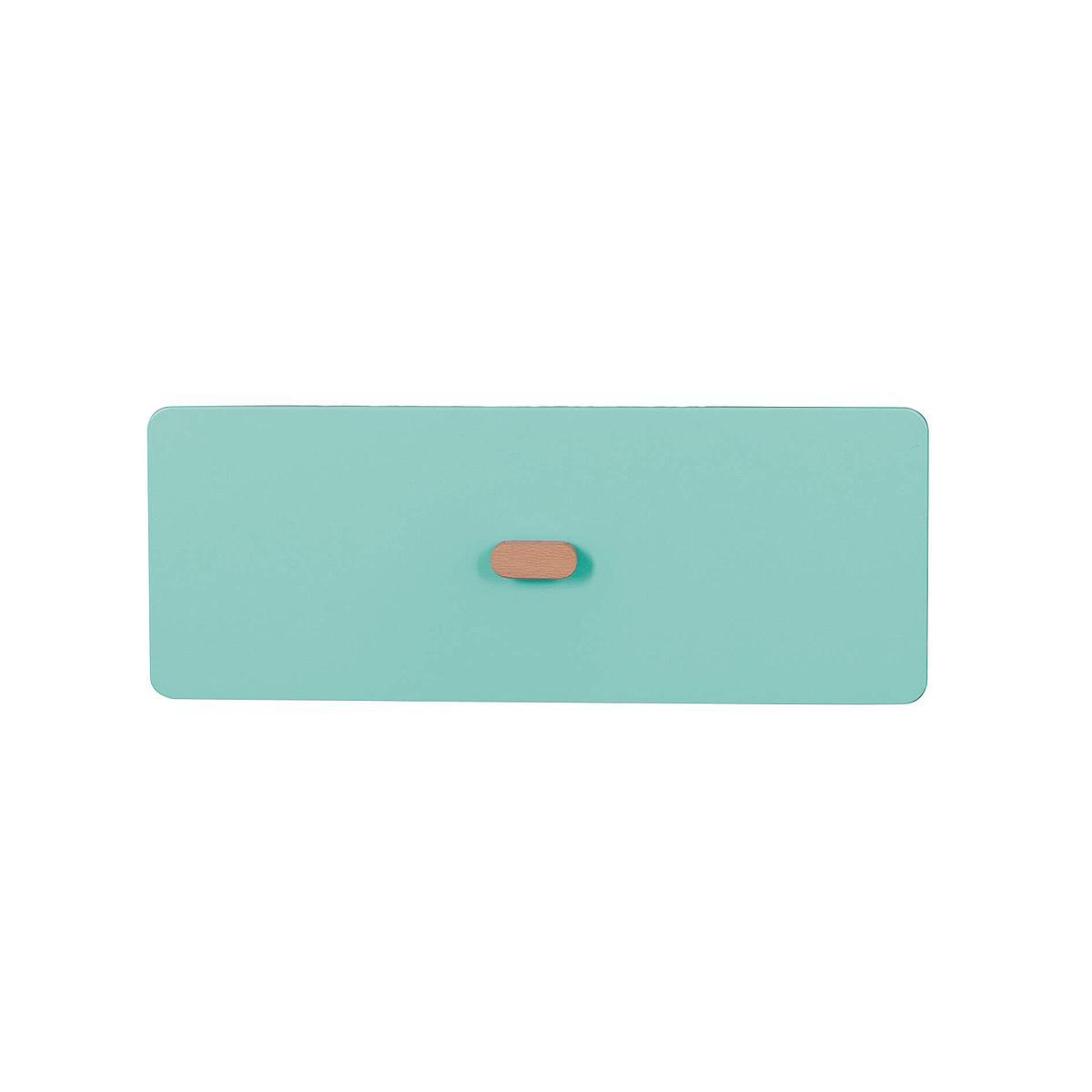 Schubladenblende einzeln 17cm-Griff DESTYLE Debreuyn  MDF mint-lackiert
