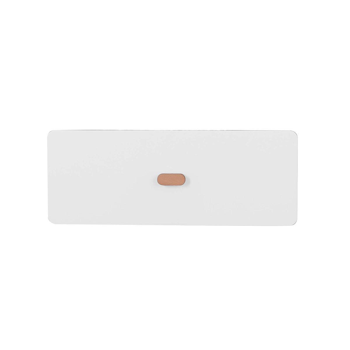 Schubladenblende einzeln 17cm-Griff DESTYLE Debreuyn  MDF weiß-lackiert