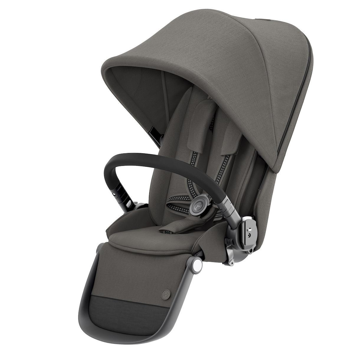 Seat Pack GAZELLE S BLK Cybex Soho grey-mid grey
