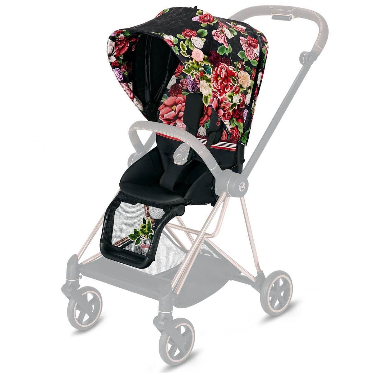 Seat Pack MIOS Cybex Spring Blossom Dark-black
