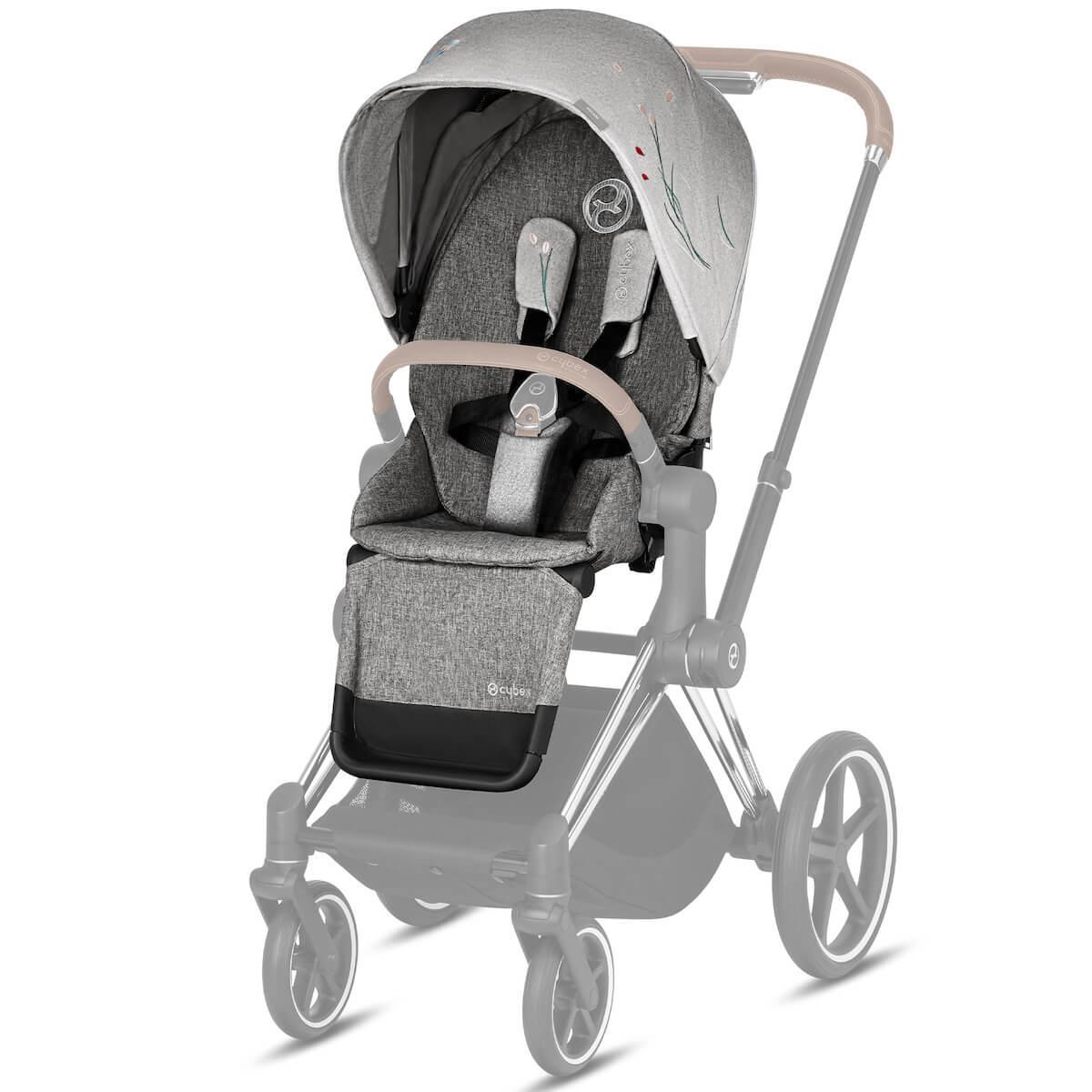 Seat Pack PRIAM Cybex Koi-mid grey