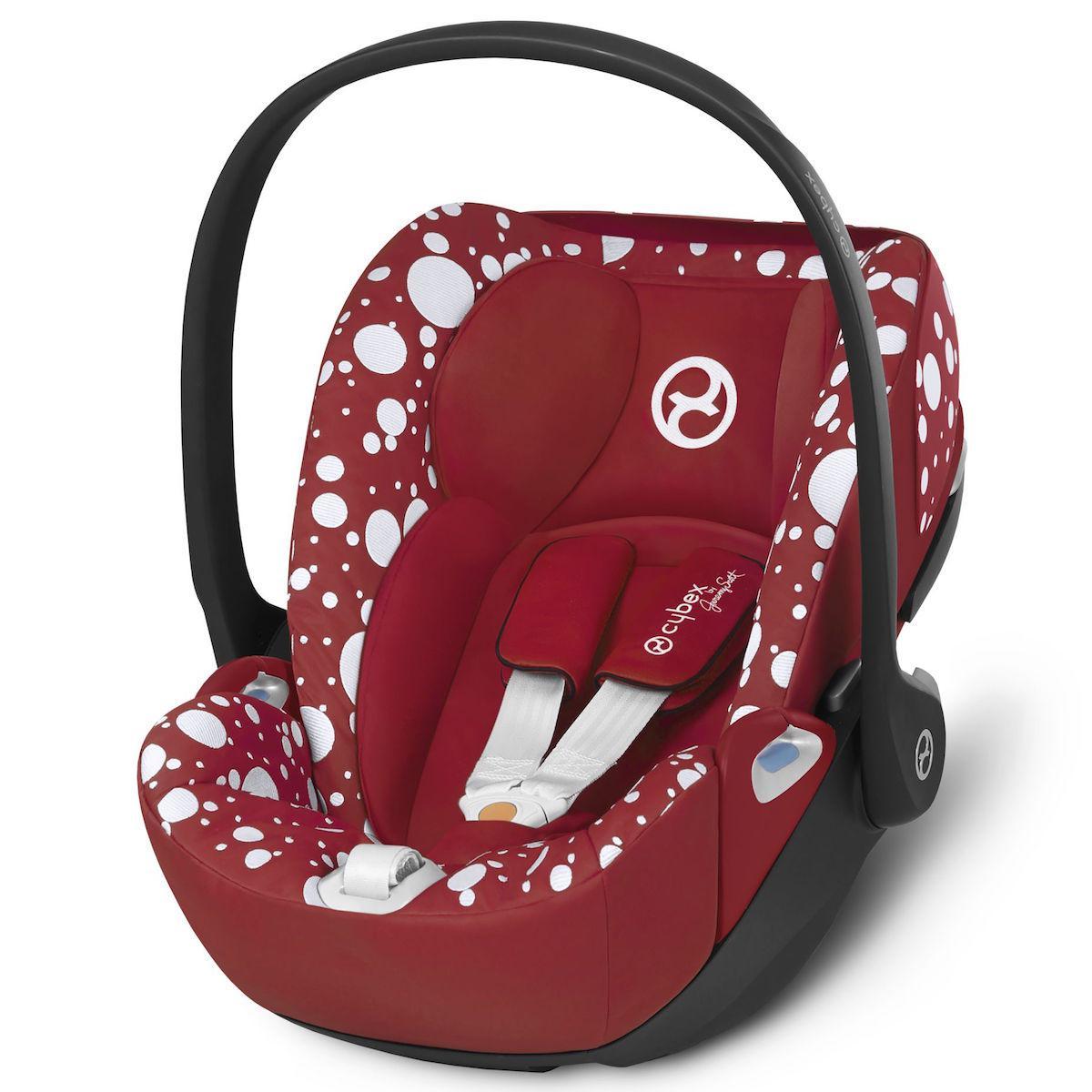 Siège auto gr0+ CLOUD Z I-SIZE Cybex Petticoat Red Cybex dark red