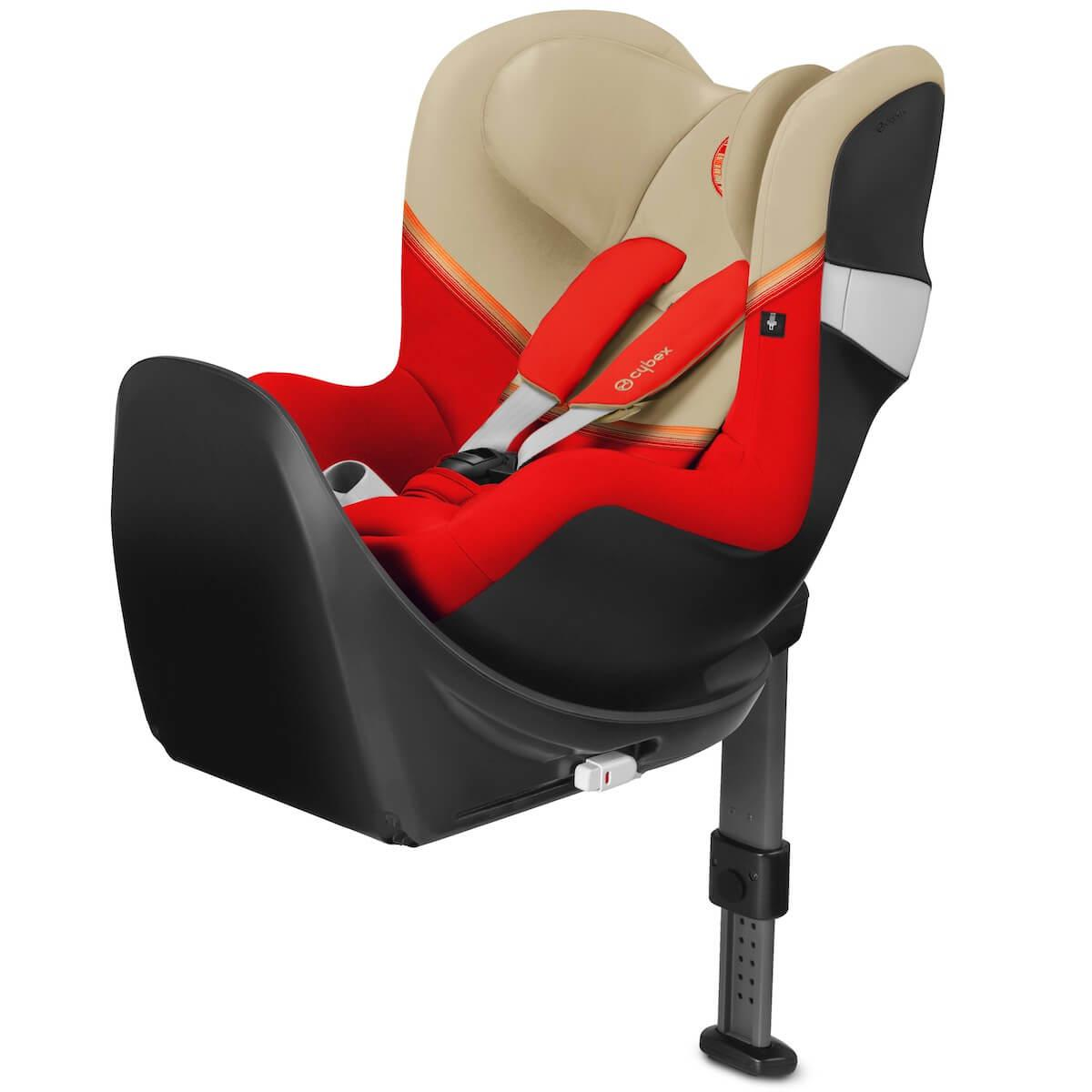 SIRONA M2 I-SIZE  incl. BASE M Autumn Gold | burnt red