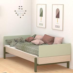 Sofabett 120x200cm POPSICLE Flexa Eiche-kiwi