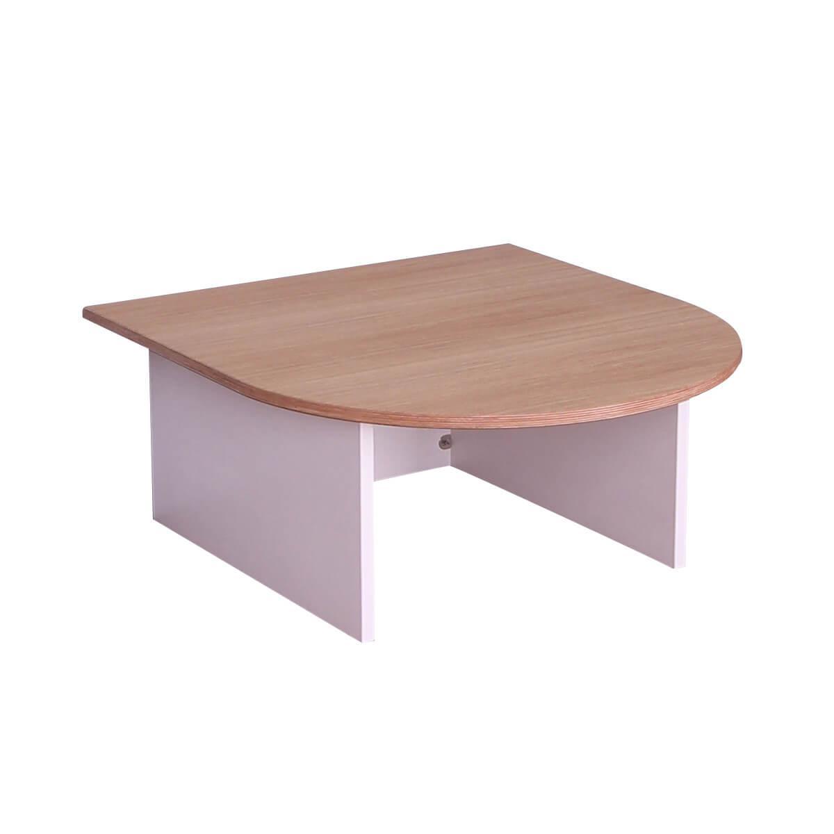 Spieltisch KASVA Multiplex weiß-lackiert Eiche-furniert