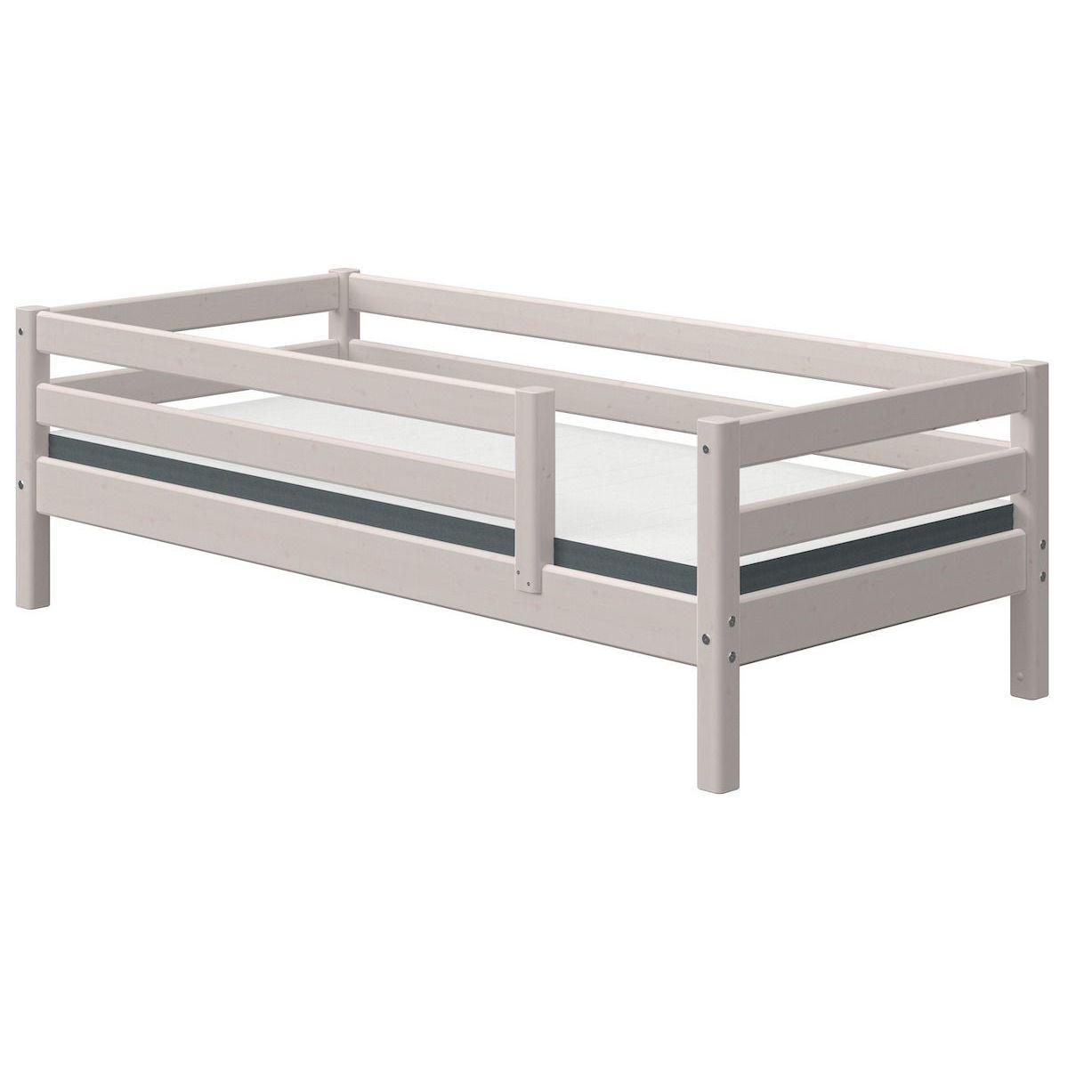 Tagesbett 90x190cm Absturzsicherung CLASSIC Flexa grey washed