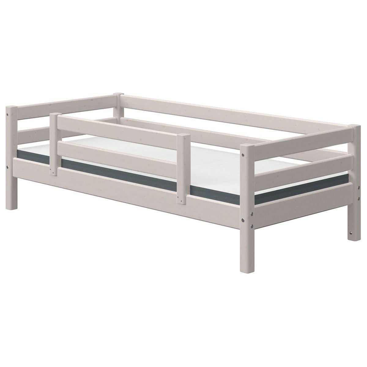 Tagesbett 90x190cm Zentrales Absturzsicherung CLASSIC Flexa grey washed
