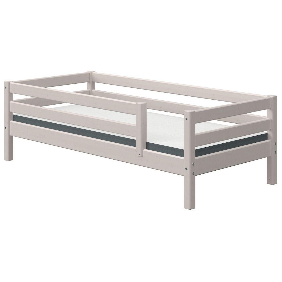 Tagesbett 90x200cm Absturzsicherung CLASSIC Flexa grey washed