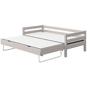 Tagesbett 90x200cm Ausziehbett CLASSIC Flexa grey washed