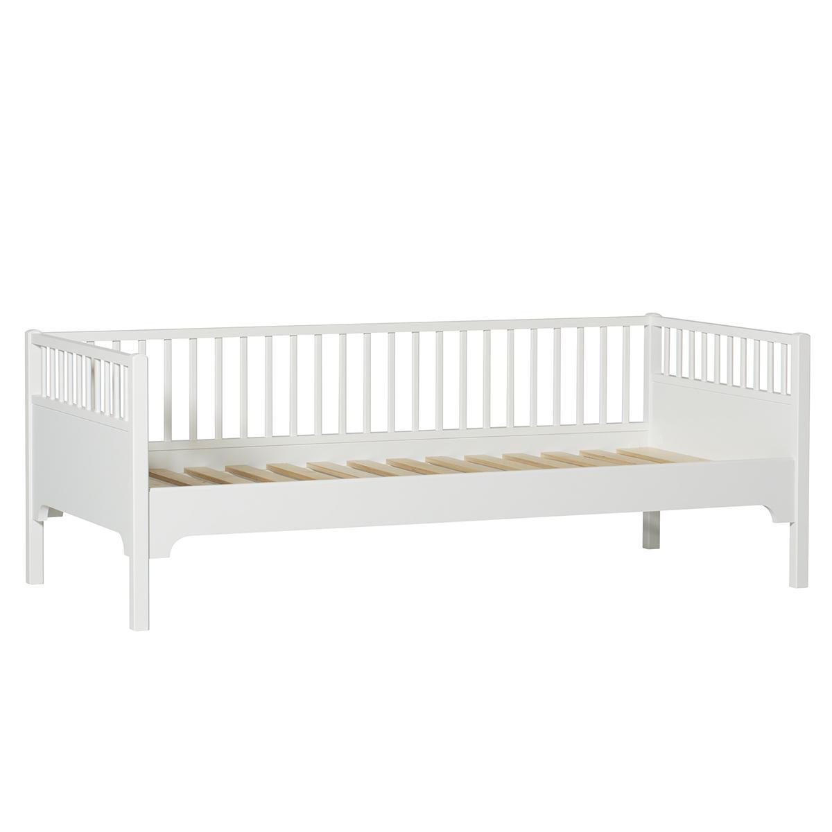 Tagesbett 90x200cm SEASIDE Oliver Furniture weiß