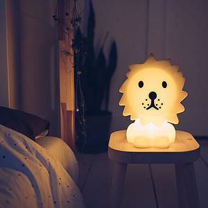 Tischlampe LION FIRST LIGHT Mr. Maria gelb