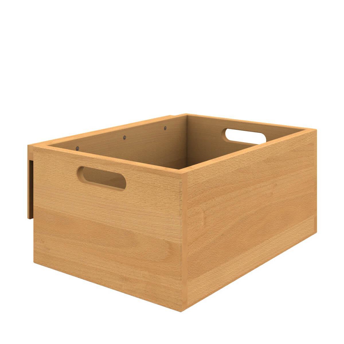 Utensilienbox klein-einhängbar Bettzusatz DESTYLE Debreuyn, Buche massiv-natur geölt