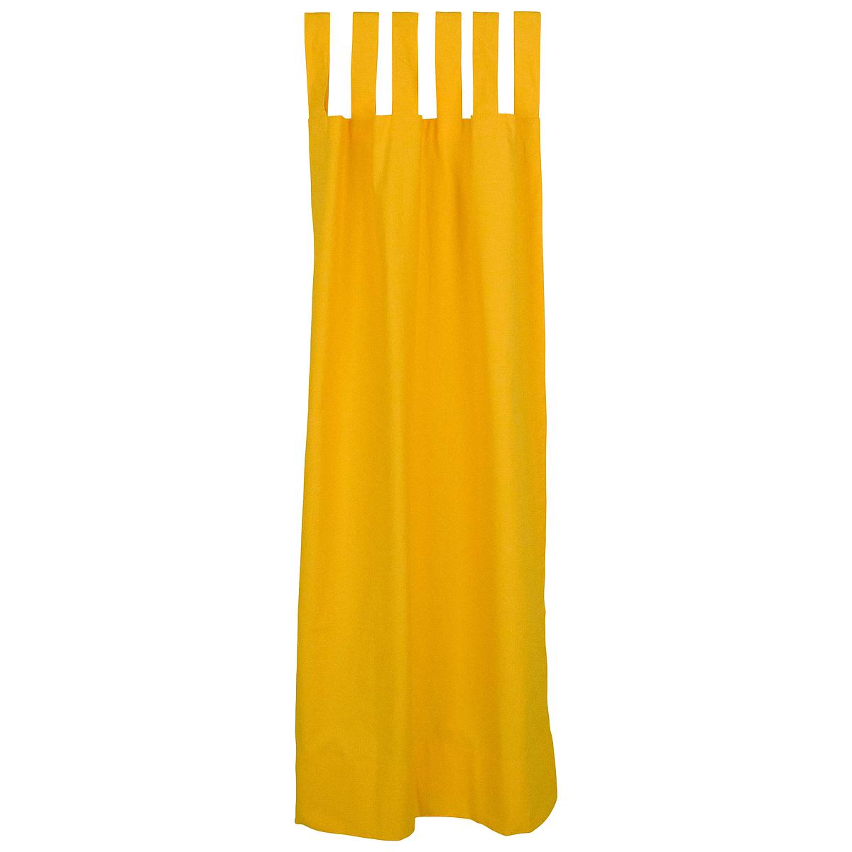 Vorhang DESTYLE de Breuyn gelb