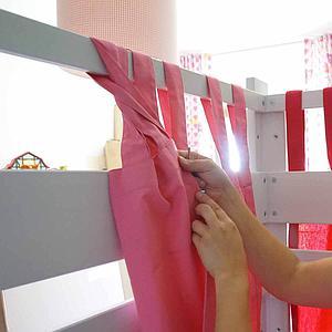 Vorhang DESTYLE de Breuyn rosa